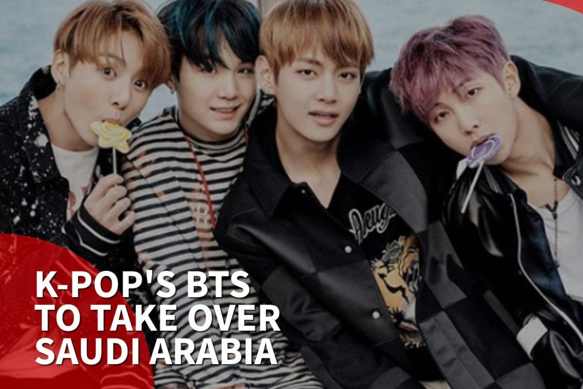 Thumbnail - K-pop band BTS heads to Saudi Arabia