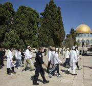 Like the Ibrahimi Mosque in Hebron, Jerusalem's Al-Aqsa Mosque is also under threat