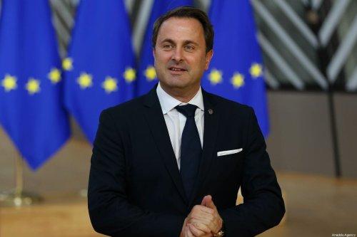 Prime Minister of Luxembourg Xavier Bettel in Brussels, Belgium on 17 October 2019 [Dursun Aydemir/Anadolu Agency]