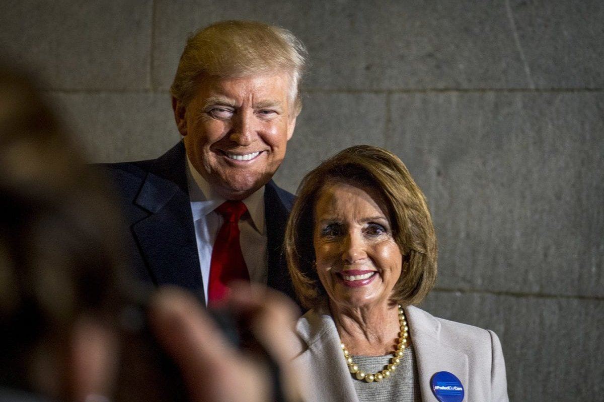 """Image result for donald trump and nancy pelosi"""""""
