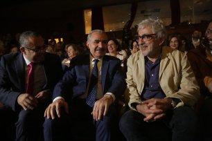 Palestinian Prime Minister Mohammad Shtayyeh at Palestine Cinema Days 2019 [Hamde Abu Rahma]