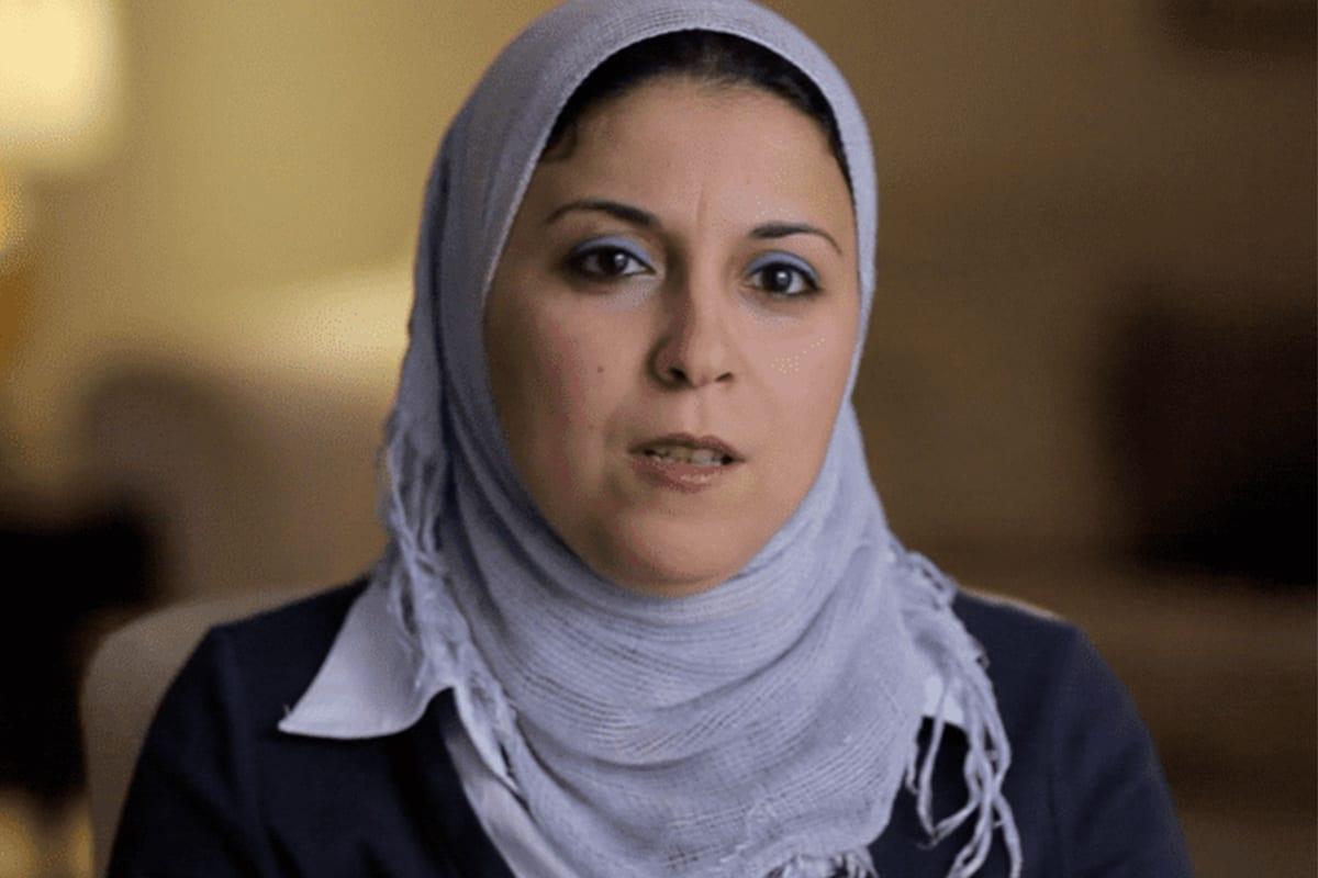 Egyptian activist Israa Abdelfattah,