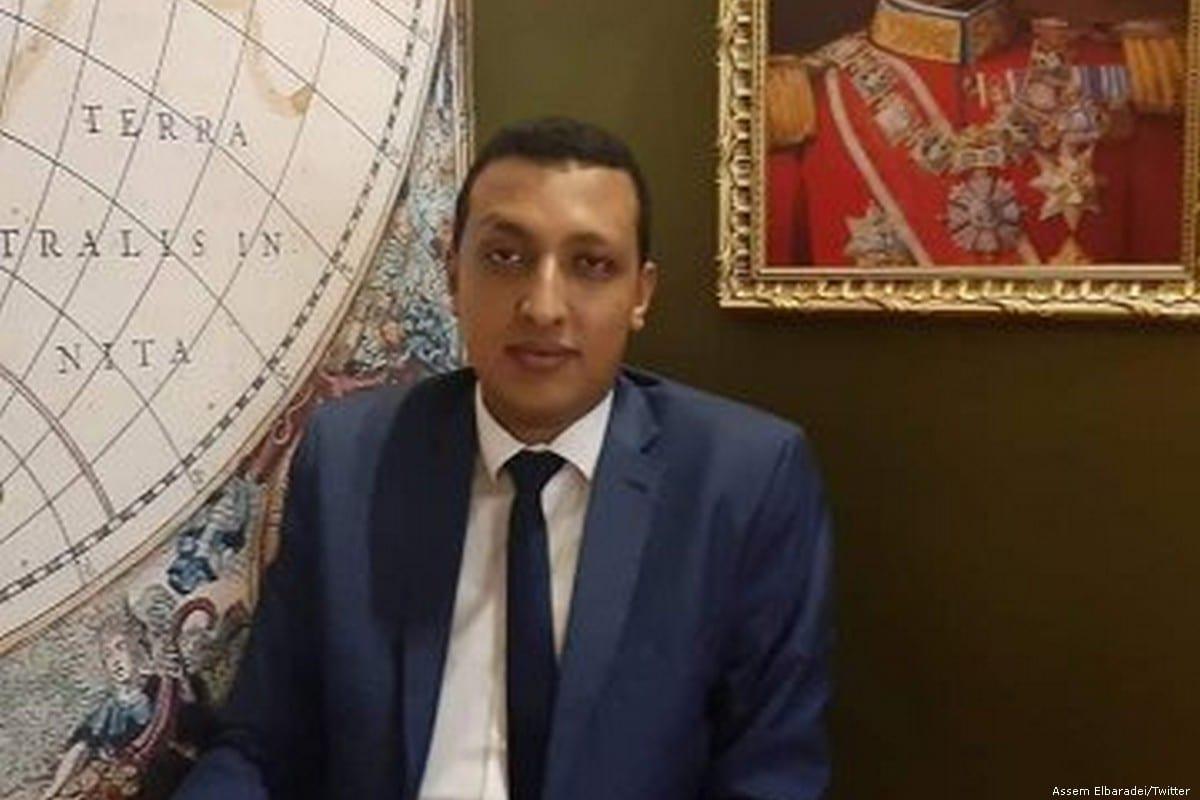 Mohamed Helmi Hamdoun, an Egyptian lawyer