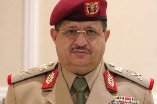 Yemen's Defence Minister, Mohammed Al-Maqdashi
