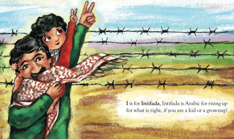 A page from P is for Palestine by Golbarg Bashi