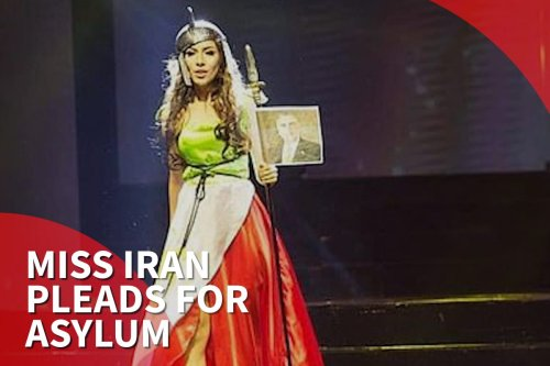 Thumbnail - Former Miss Iran stranded, pleads for asylum in the Philippines