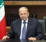 Aoun says Lebanese gov't must include politicians, urges protesters to go home