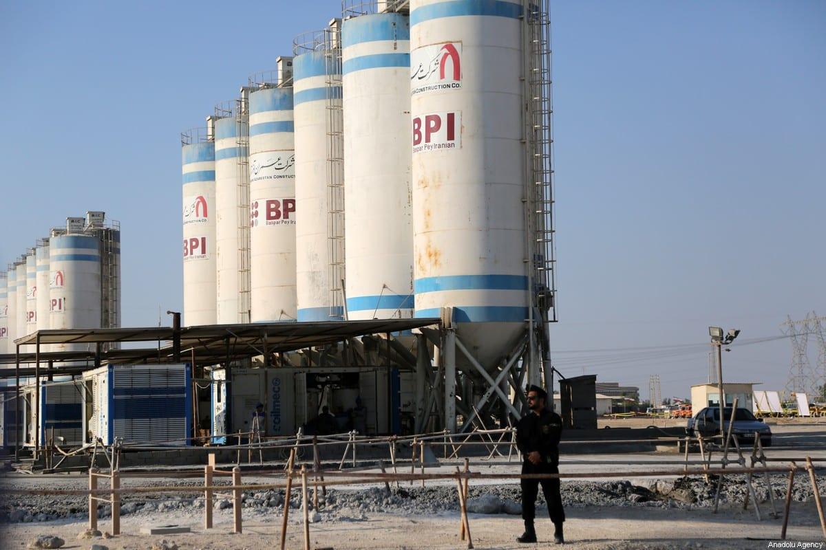 Bushehr Nuclear Power Plant, held in Bushehr, Iran on 10 November 2019 [Fatemeh Bahrami/Anadolu Agency]