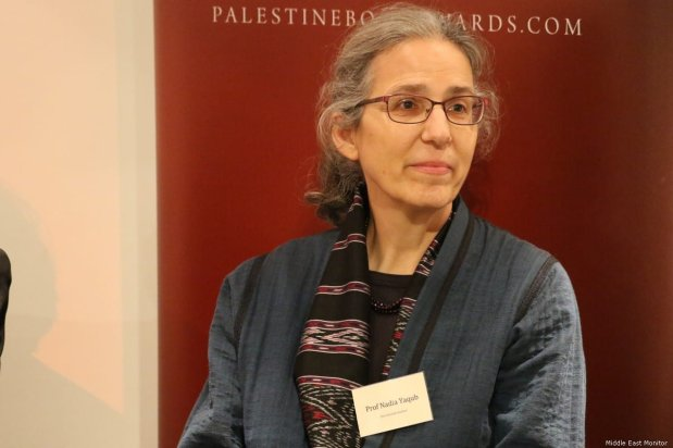 Nadia Yaqub, author of Palestinian Cinema in the Days of Revolution