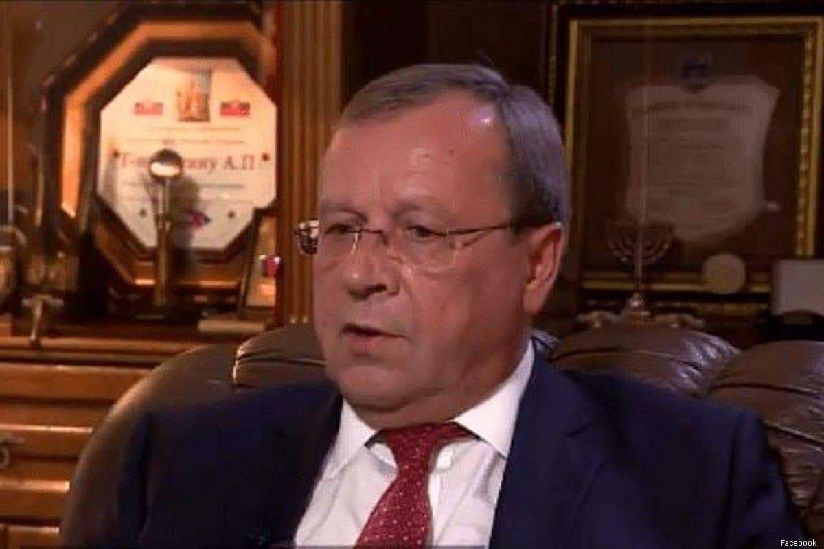 Russia's Ambassador to Israel, Anatoly Viktorov