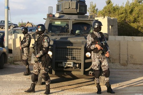 Jordanian security forces, 19 November 2016 [KHALIL MAZRAAWI/AFP/Getty Images]