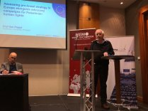 Prof Ilan Pappe at MEMO and EuroPal Forum conference The Palestine Question in Europe on 23 November 2019