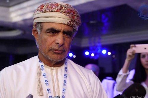 Oman Oil Minister Mohammed Bin Hamad Al-Rumhy