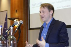 Hugh Lovatt at MEMO and EuroPal Forum conference The Palestine Question in Europe on 23 November 2019 [Middle East Monitor]