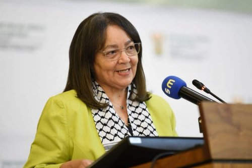 South African Minister of Public Enterprises Patricia De Lille