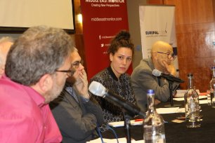 The third and final panel chaired by Amelia Smith at MEMO and EuroPal Forum conference The Palestine Question in Europe on 23 November 2019 [Middle East Monitor]
