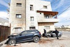 Israeli settlers vandalised cars belonging to Palestinians
