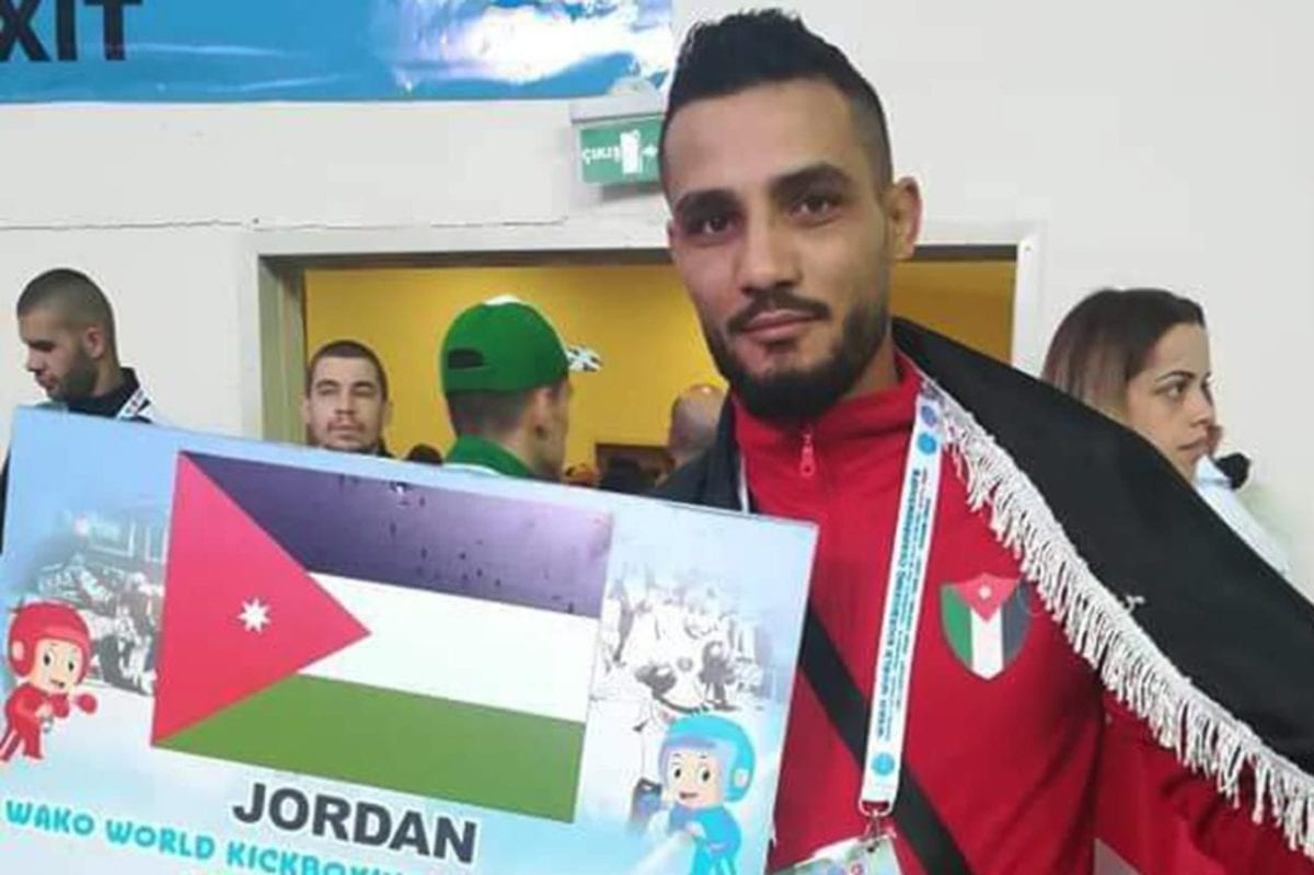 Jordanian kickboxing player, Mohammed Eid [Twitter]
