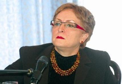 Khalida Toumi aka Khalida Messaoudi, Algeria's former culture minister [Twitter]