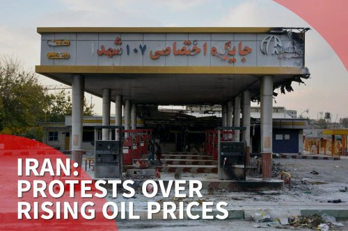 Thumbnail - Iran: Protests over oil prices