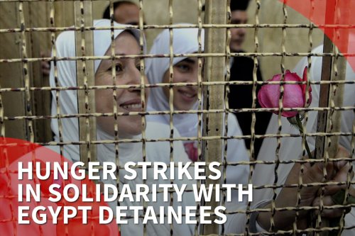 Thumbnail - Global hunger strike campaign in support of Egypt political prisoners