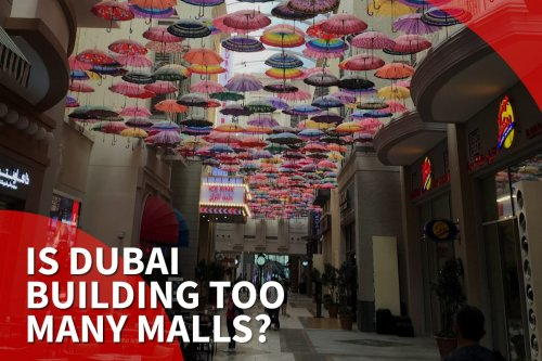 thumbnail - Dubai set to build more malls despite hurt economy
