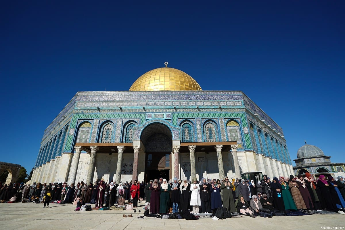 Israel S Plan To Isolate Al Aqsa Mosque End Waqf Role Middle East Monitor