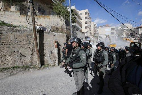 Israeli forces take security in Jerusalem on 24 December 2019 [Mostafa Alkharouf/Anadolu Agency]