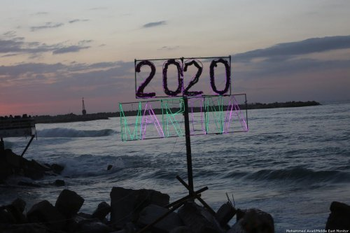 New Years Eve: Gaza prepares for 2020 in Gaza City on 31 December 2019 [Mohammed Asad/Middle East Monitor]