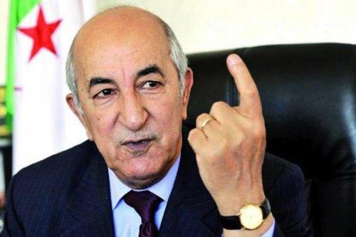 Abdelmadjid Tebboune, Algeria new president [Twitter]