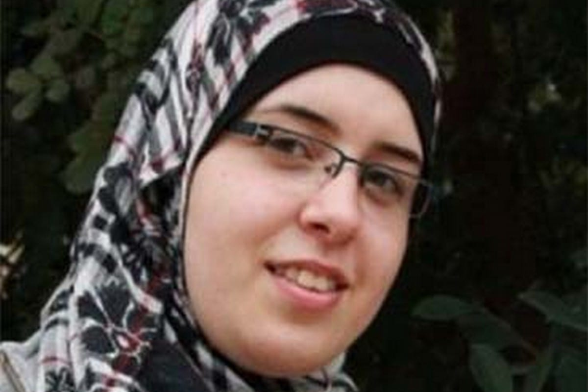 Palestinian journalist and activist, Bushra Al-Taweel,