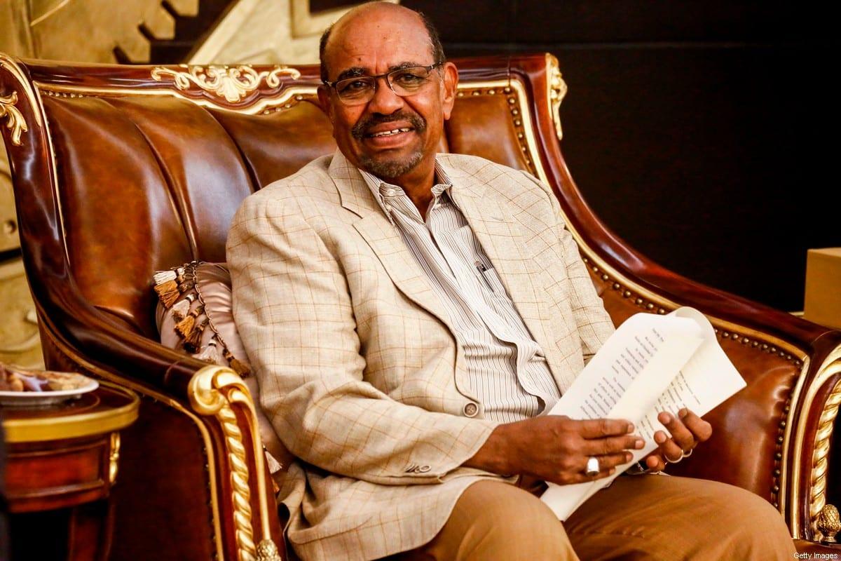 Former Sudanese President Omar al-Bashir on 16 March, 2019 [ASHRAF SHAZLY/AFP via Getty Images]