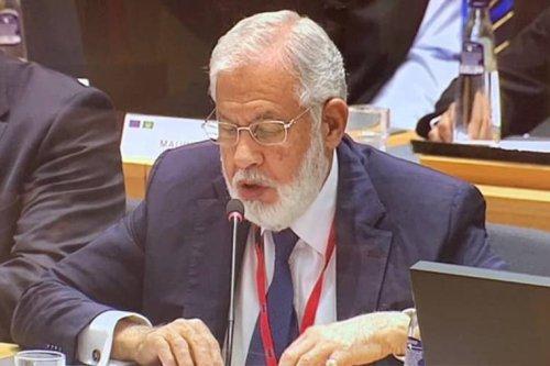 Libyan Foreign Minister, Mohamed Taha Siala.