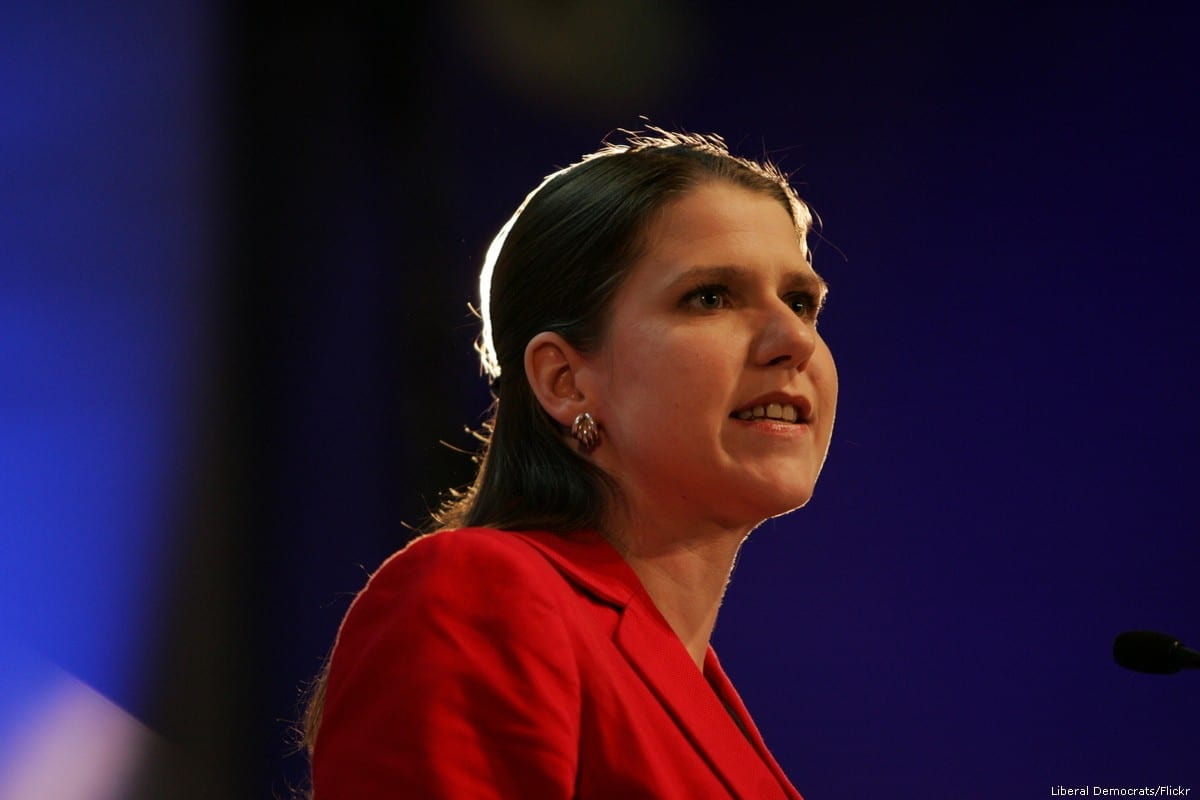 Leader of the Liberal Democrats, Jo Swinson, 6 October 2014 [Liberal Democrats/Flickr]