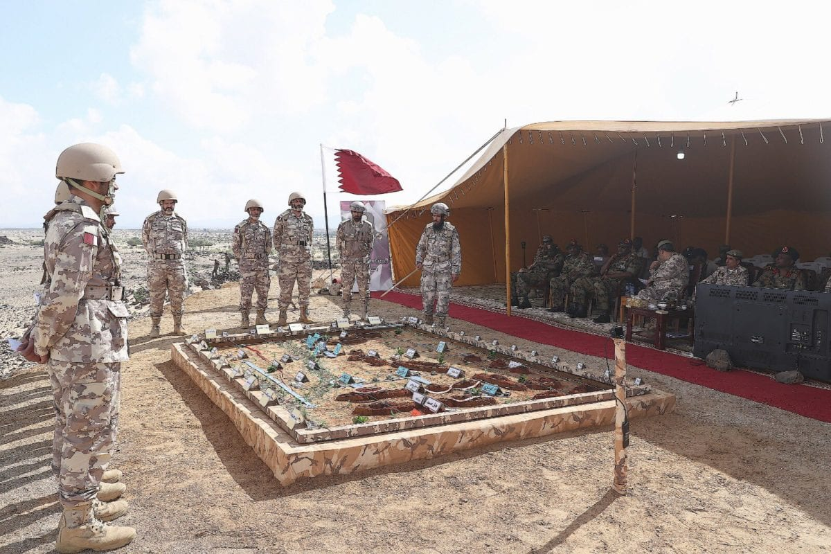 Qatar, Sudan hold joint military drill on 5 December 2019 [Twitter]