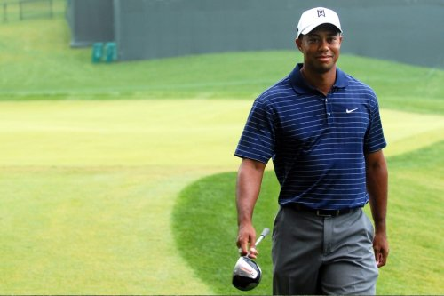 American professional golfer Tiger Woods