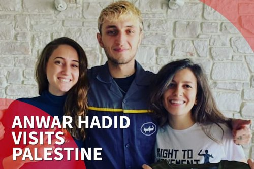 Gigi Hadid's brother visits Palestine for second time in 2019
