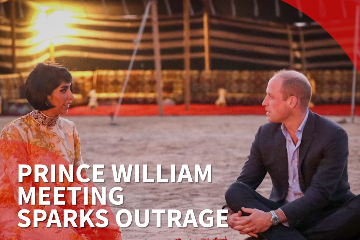 Thumbnail - UK's Prince William meets a 'racist' during Kuwait trip