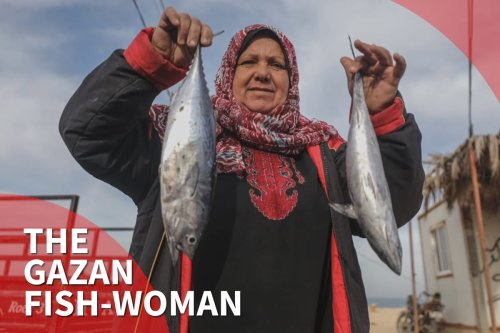 Thumbnail - Gaza's fish-woman competing with male fishmongers for 15 years