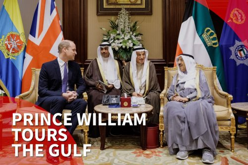 Thumbnail - Prince William sets off on Gulf tour