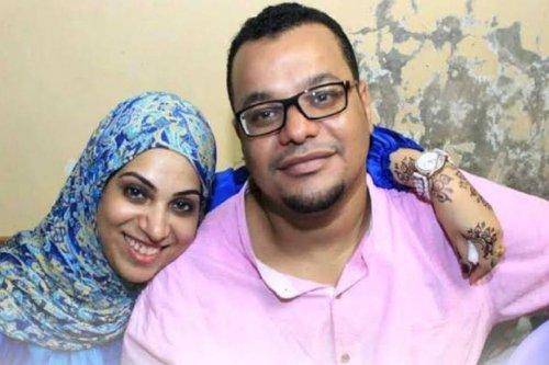 Egyptian engineer, Ali Abul-Qasim and his wife