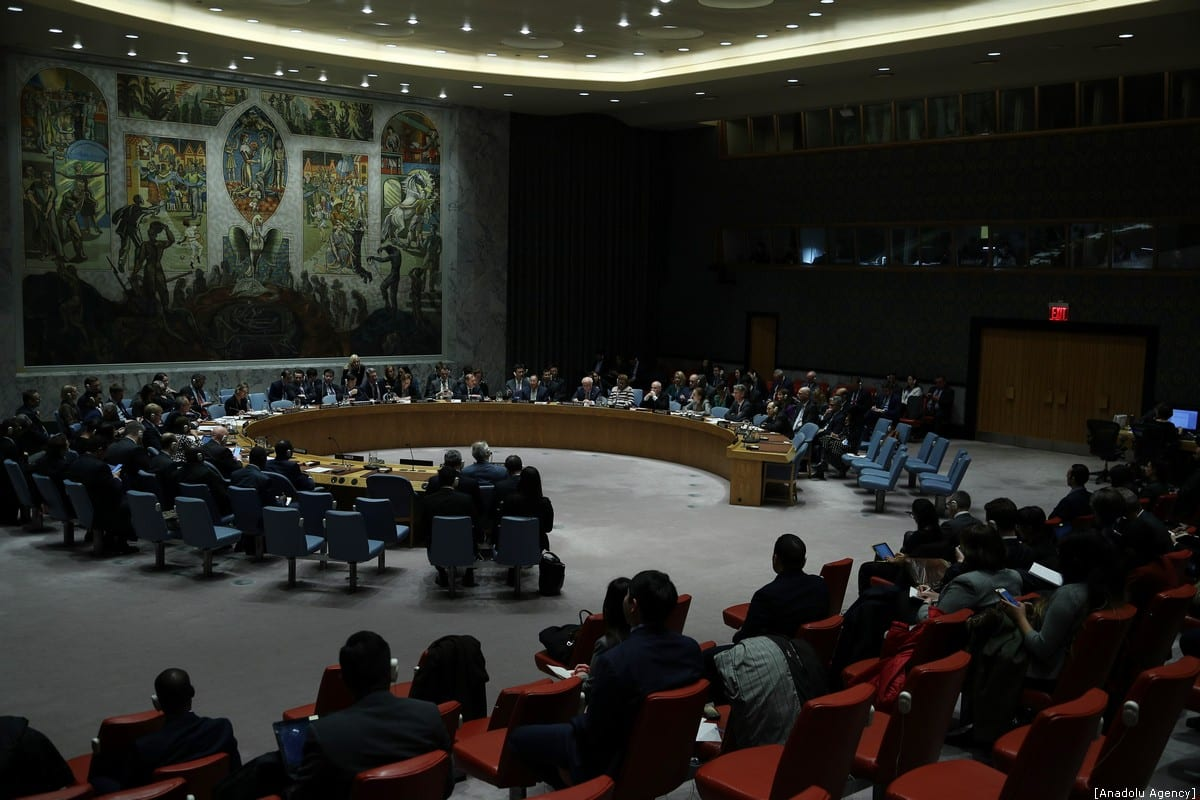 United Nations security council passes resolution to resume humanitarian aid to Syria