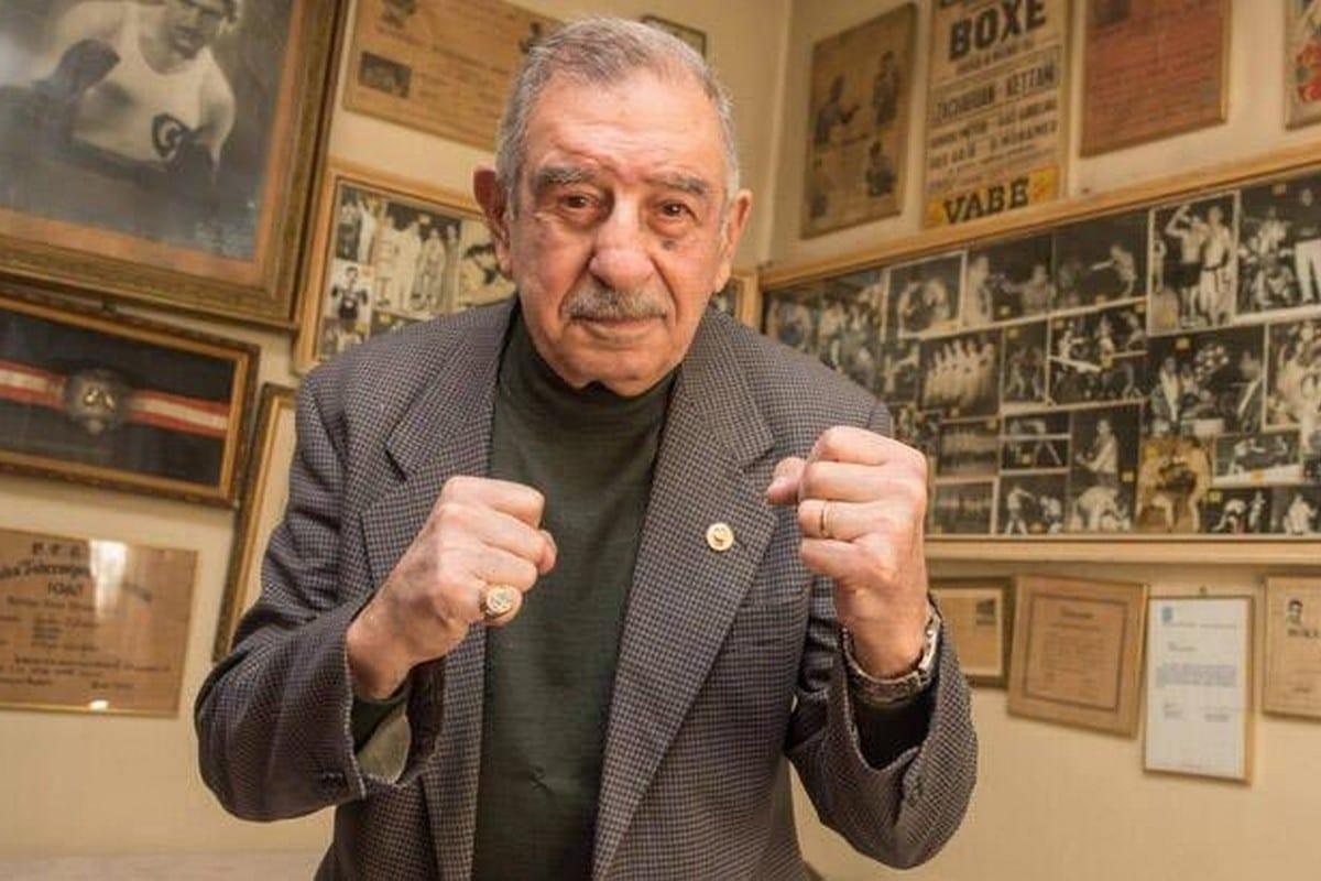Turkey's first professional boxer Garbis Zakaryan