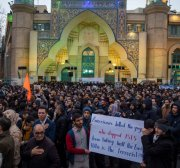 Global protests reassert opposition to the US presence in the Middle East