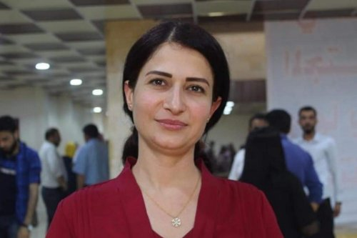 Syrian-Kurdish politician Hevrin Khalaf