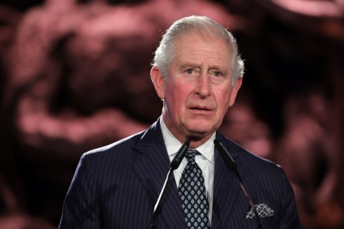 Britain's Prince Charles at the Holocaust memorial museum in Jerusalem on 23 January 2020 [ABIR SULTAN/POOL/AFP/Getty Images]