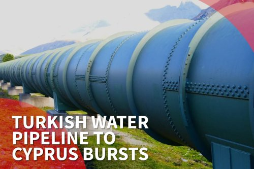 Thumbnail - Turkey water pipeline to Cyprus bursts