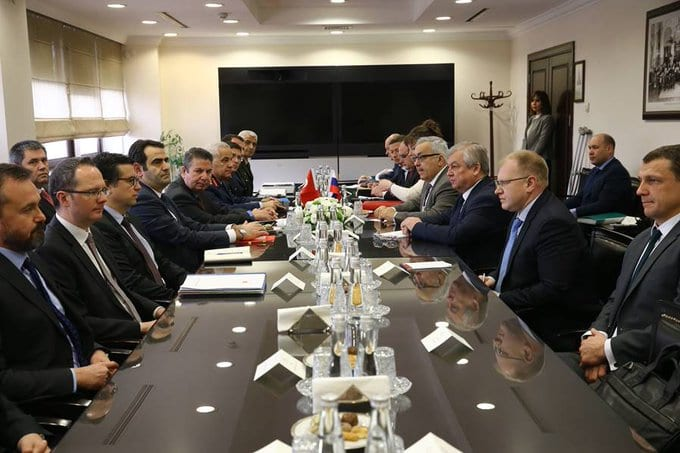 Idlib talks between Turkey and Russia [Twitter]