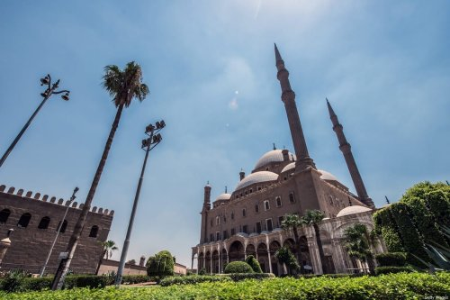 A picture taken on July 17, 2018, shows the Muhammad Ali mosque situated in the Citadel of Cairo in the Egyptian capital. [KHALED DESOUKI/AFP via Getty Images]