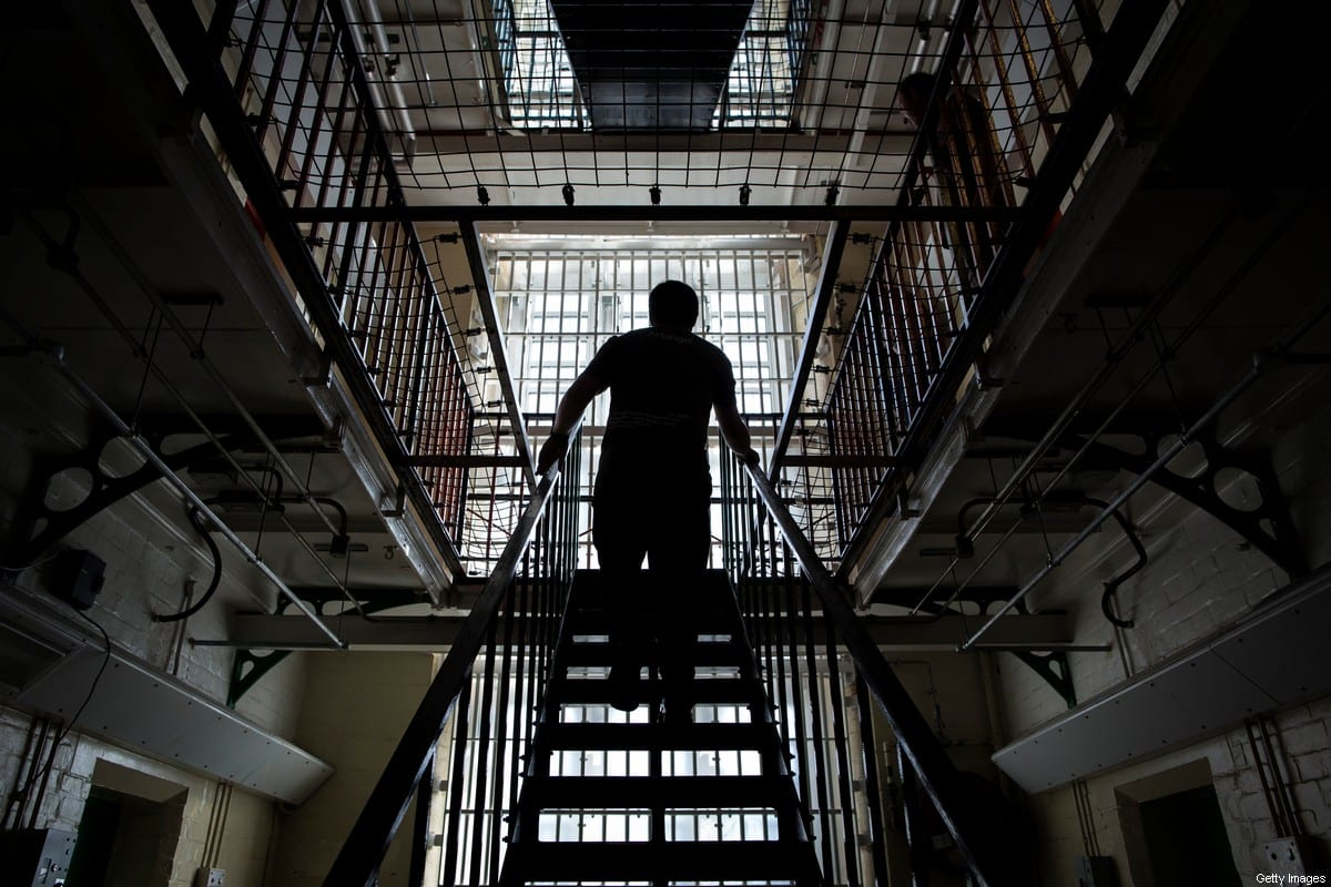 A general view inside the a prison building on 1 September 2016 [Dan Kitwood/Getty Images]